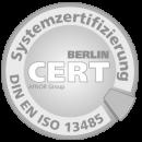 Systemzertifizierung DIN EN ISO 13485